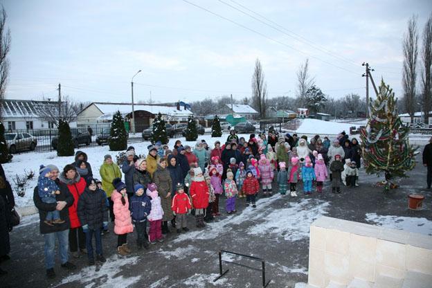 Новый год в АО «Племпредприятие «Воронежское»
